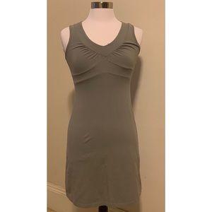 Gray Athleta Sleeveless V Neck Dress Size XS